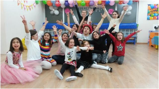 çocuklar için doğum günü parti yerleri İstanbul