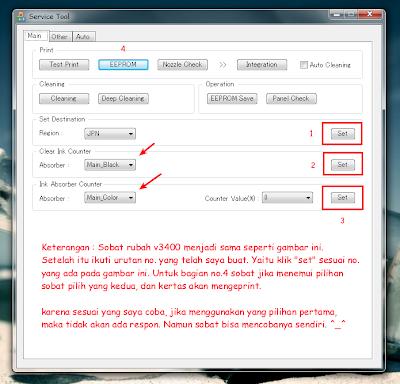 Mengatasi Error E08 MG2270