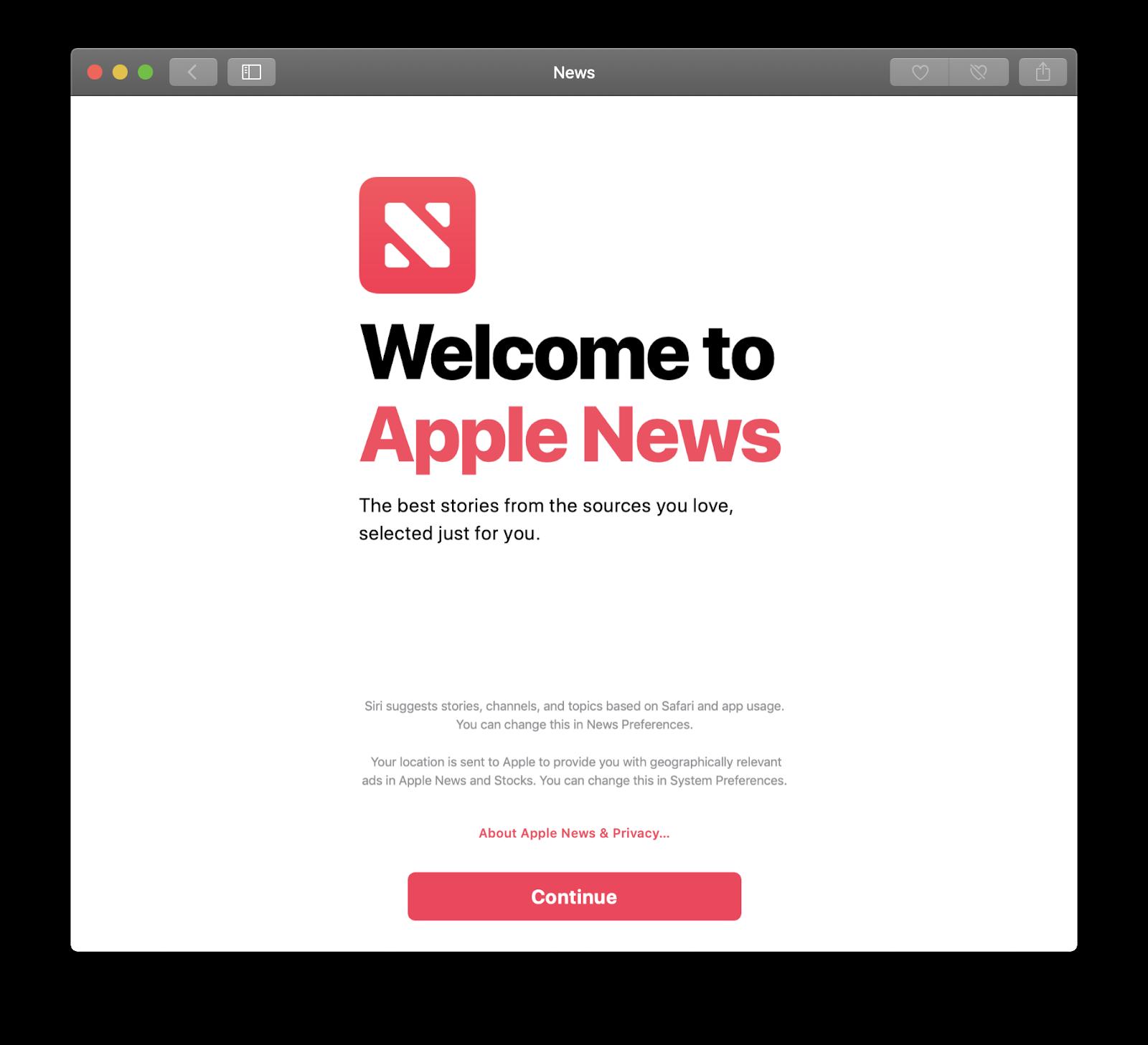 Come utilizzare l'app News di Apple su tutti i Mac