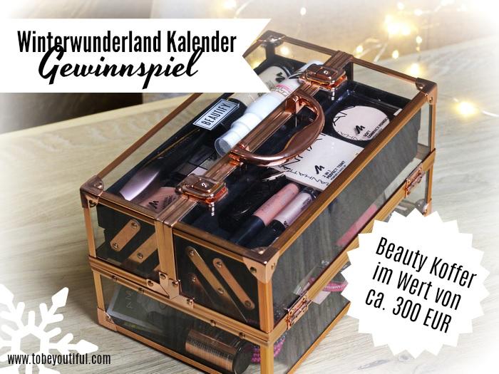 Winterwunderland Kalender 2017 Beauty Koffer