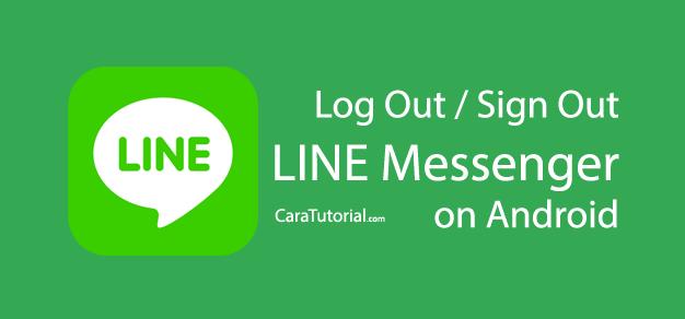 Logout LINE Account