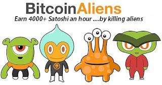 Membunuh Aliens Dibayar Bitcoin