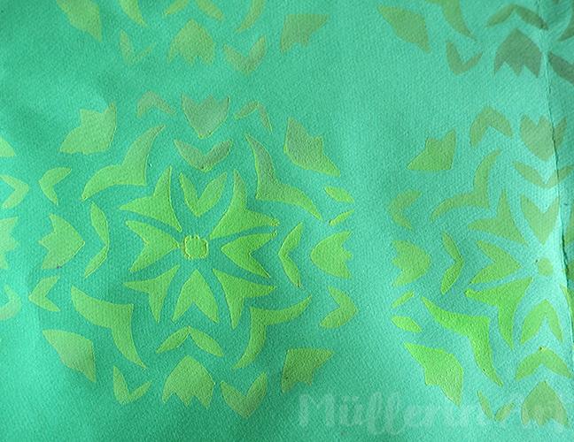 Schablonendruck nach ©muellerinart