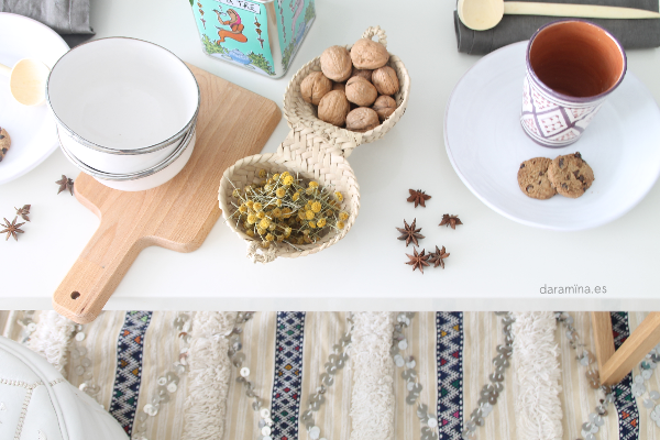 Como poner servilletas navidad - Mesas de desayuno ...