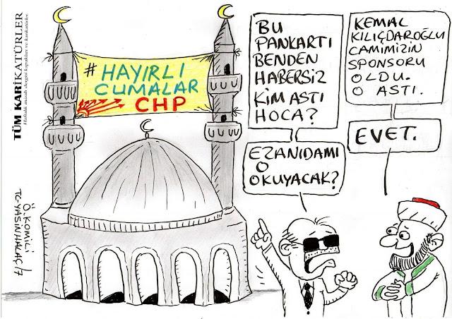 camide siyaset karikatür