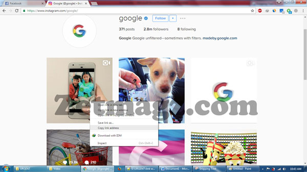 Cara Mudah Download Foto/Video DiInstagram Menggunakan PC Tanpa Software