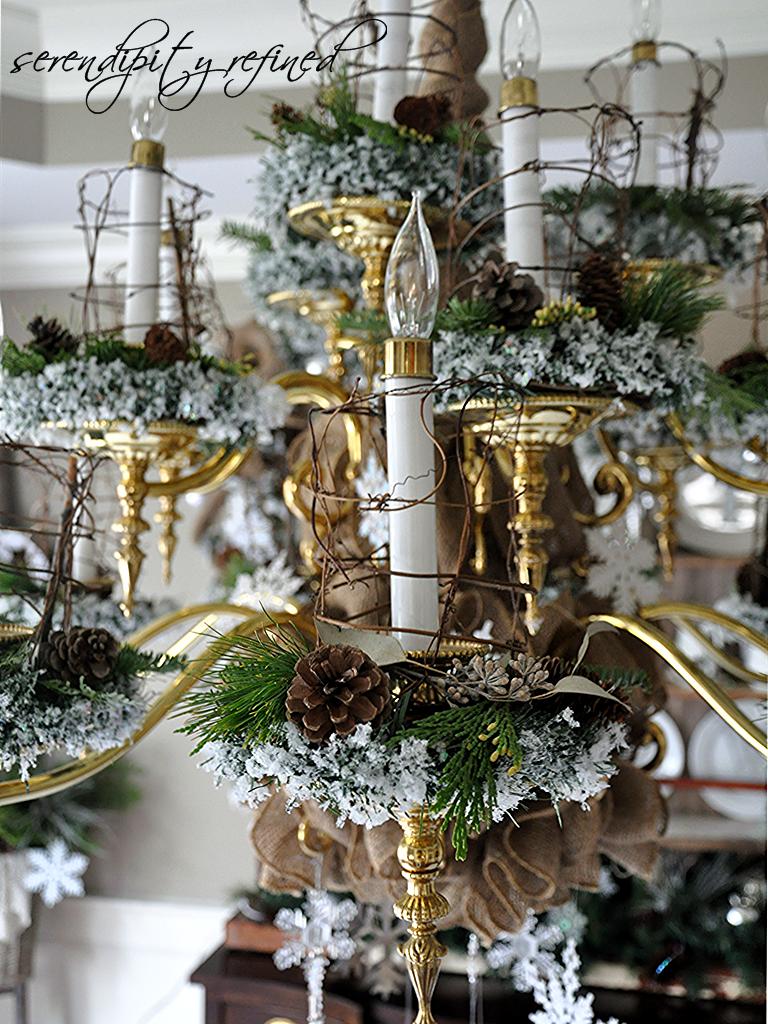 Serendipity Refined Blog Dollar Tree Holiday Chandelier