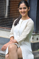 Radhika Cute Young New Actress in White Long Transparent Kurta ~  Exclusive Celebrities Galleries 038.JPG