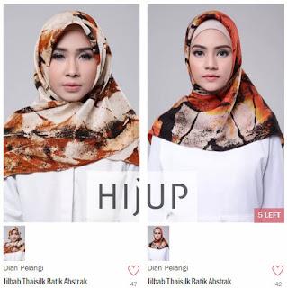 Jilbab Karya Dian Pelangi di Hijup