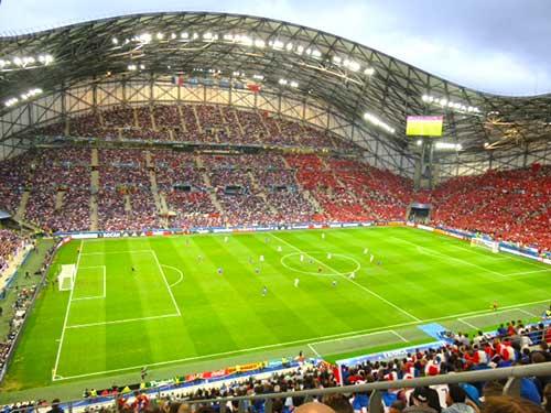 France v Albania, Euro 2016.