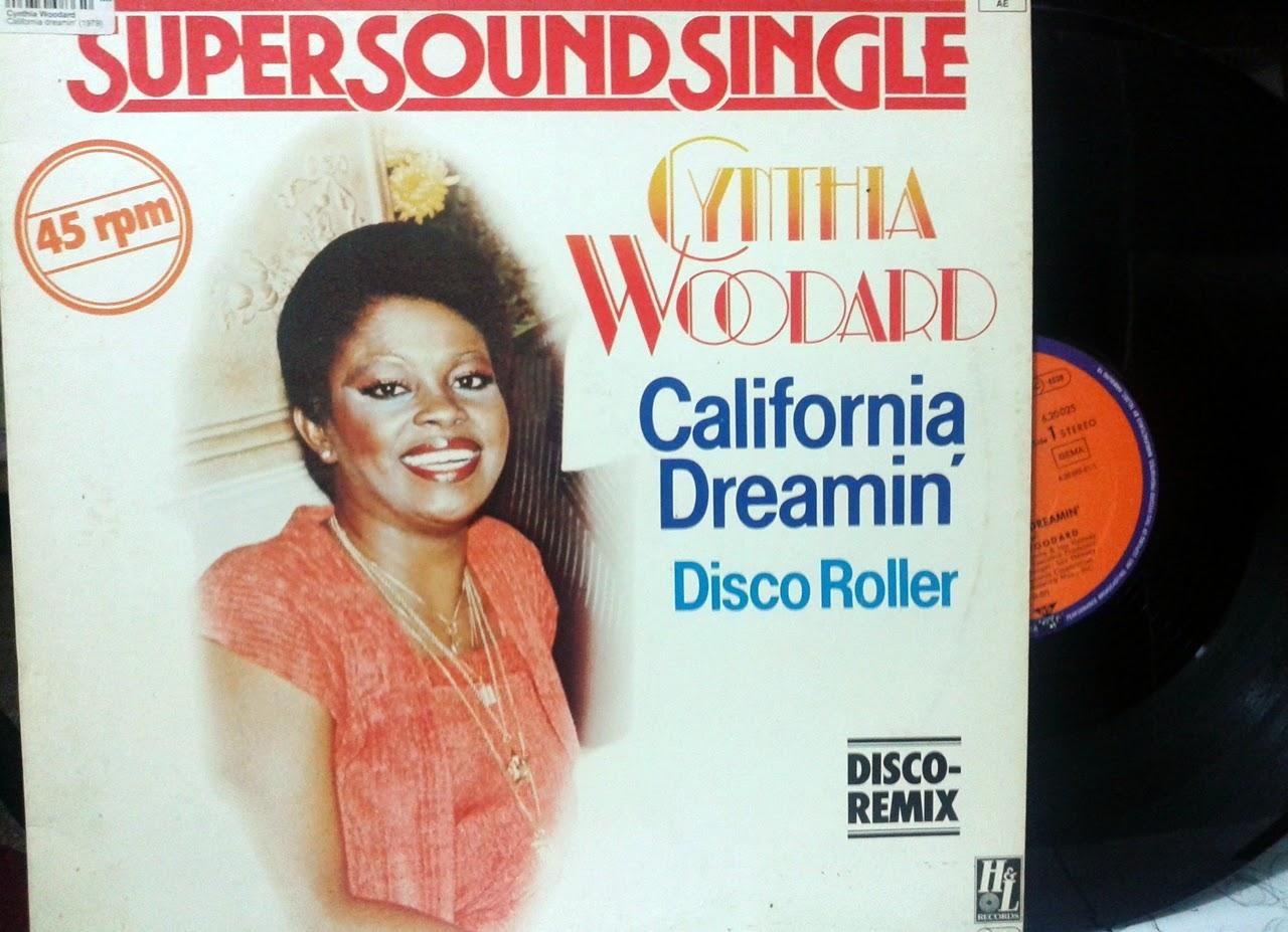 http://www.discogs.com/Cynthia-Woodard-California-Dreamin/release/1275034