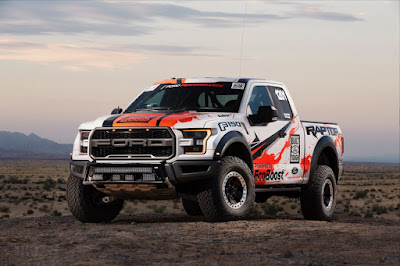 The 2017 Ford F-150 Raptor Prepares for Off-Road Racing Series