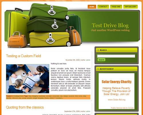 Free Wordpress Theme - WP Travel Theme 3