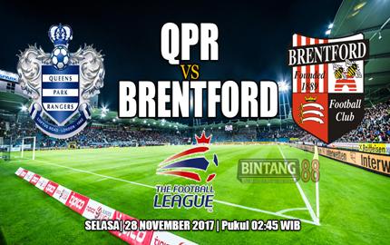 Prediksi Qpr Vs Brentford 28 November 2017