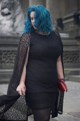 Lavish Alice Cape Dress