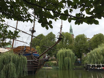 Tivoli Gardens Copenhagen pirate ship