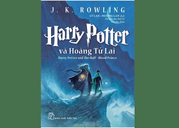 Sách Harry Potter và Hoàng Tử Lai - cuốn sách thứ 6 của J.K. Rowling