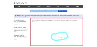 trik jitu cara mengecek artikel blog plagiat atau tidak