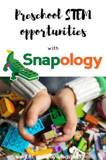 Preschool STEM opportunities with Snapology