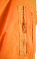 Ampliar imagen: Detalle de bolsillo con cremallera en manga de la Cazadora Desmontable de Alta Visibilidad - 2 Colores  - JOMIBA