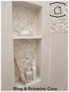 nichos embutidos banheiro
