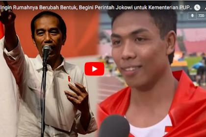 Keluarga Lalu M. Zohri Tak Ingin Rumahnya Berubah Bentuk, Begini Perintah Jokowi untuk Kementerian PUPR