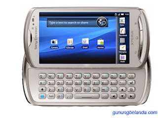 Cara Flashing Sony Ericsson Xperia Pro MK16i