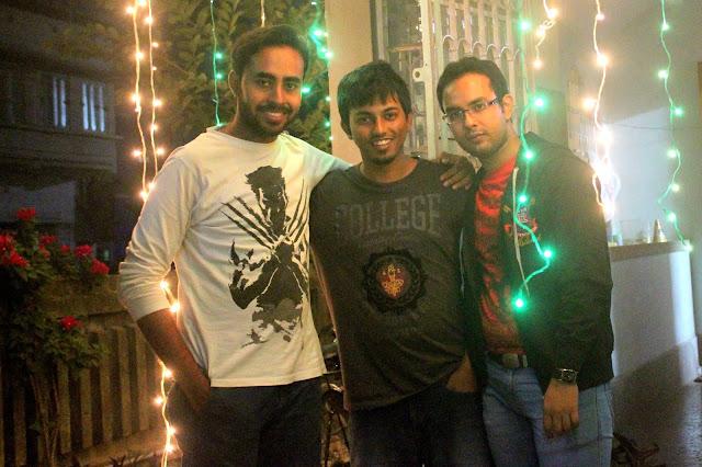 Sourajit Saha, Suvojit Paul & Uttiyo Dey 2