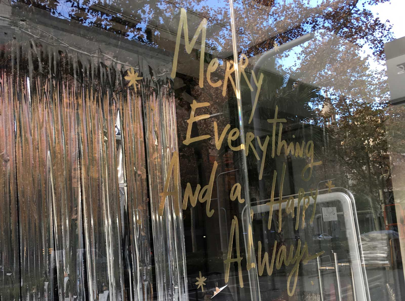 Merry Everything & a Happy Always (Diagonal, BCN)