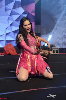 Sunny Leone Dancing on stage At Rogue Movie Audio Music Launch ~  040.JPG