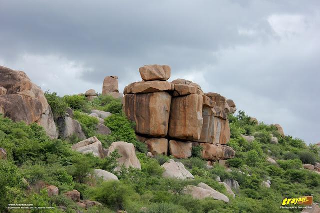Rocky hills of Hampi