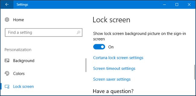 Hướng dẫn đổi hình nền Welcome, Lock Sceen, đăng nhập Win 10