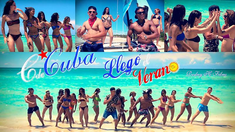 C de Cuba - ¨Llegó el verano¨ - Videoclip - Dirección: Rodny Hernández. Portal del Vídeo Clip Cubano
