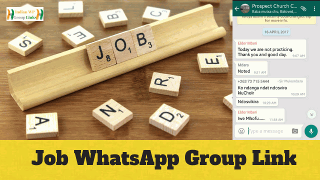 270+ Job WhatsApp Group Link Collection 2019