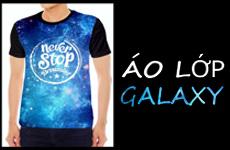 mẫu áo lớp galaxy đẹp