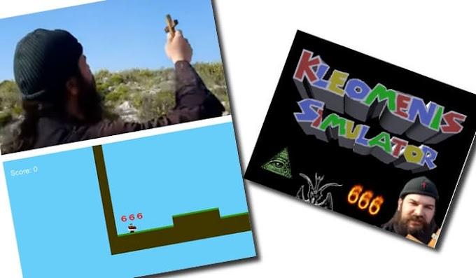 «Kleomenis Simulator»: Ο Πάτερ Κλεομένης έγινε Game!