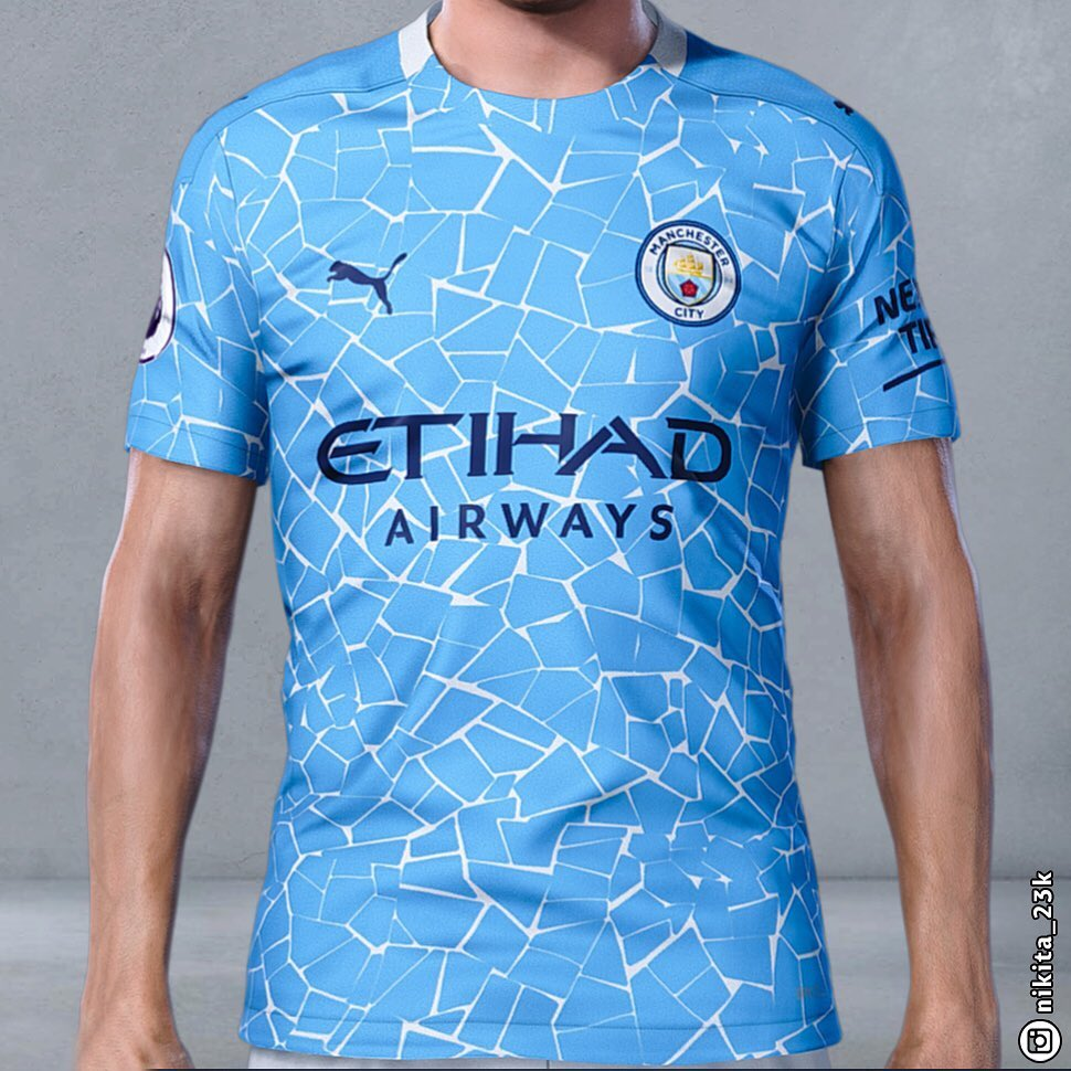 Release Imminent?! Manchester City 20-21 Home Kit Leaked ...