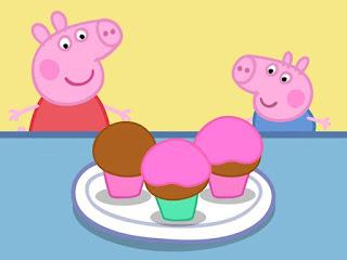pastelitos de peppa pig