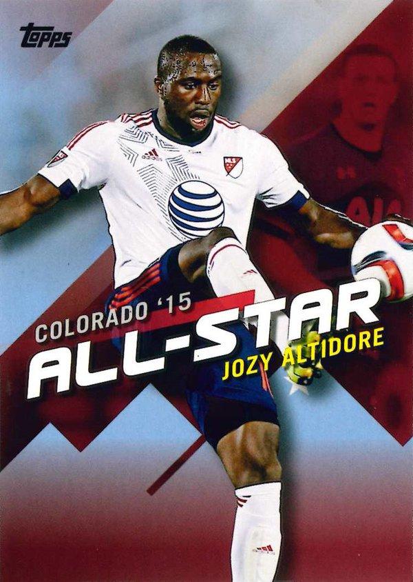#//10 Made KEI KAMARA Columbus Crew SC 2016 Topps MLS All-Star Colorado 5x7