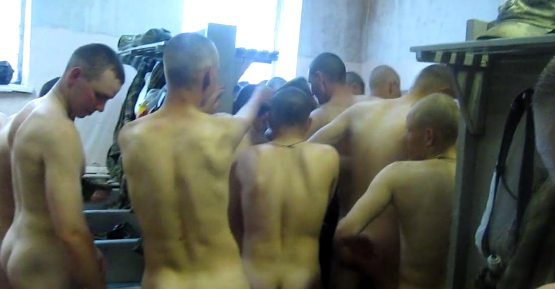 muscled soldiers asses