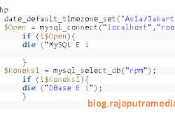 Cara Setting Timezone Menggunakan PHP - Smart Blog