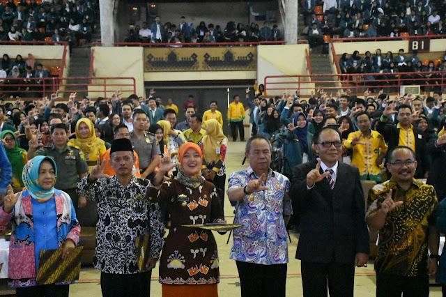 Mahasiswa Unila KKN di Lampung Timur