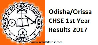 Odisha Inter 1st Year Result
