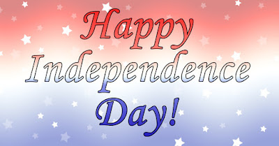 Happy Independence Day from Pepperell Crafts