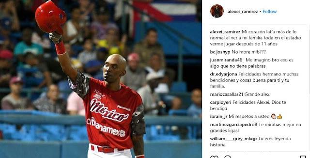 Hace poco más de un mes, como parte de la pretemporada de los Diablos Rojos, Ramírez jugó partidos de preparación en Cuba y fue muy bien acogido por sus compatriotas, orgullosos de los triunfos del pinareño en el mejor béisbol del mundo.