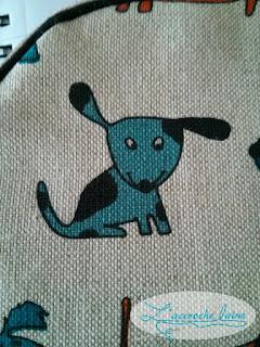 L'accroche laine - Céréale - Le chien