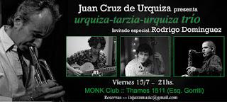 Juan Cruz de Urquiza en el Club de Jazz Monk, Buenos Aires - Argentina / stereojazz