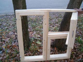 Деревянные окна по упрощенной технологии