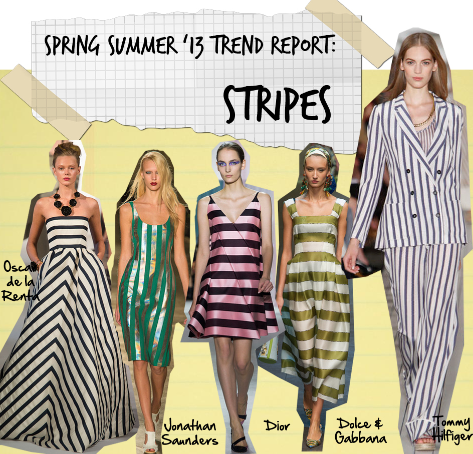 Spring Summer 2013 Trend Report: Stripes