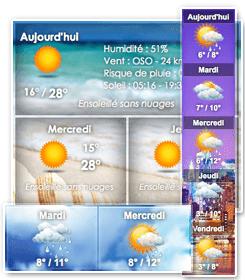 حالة الطقس في الجزائر météo alger
